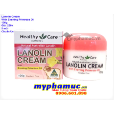 Kem Nhau Thai Cừu Healthy Care Lanolin Cream With Evening Primrose Oil 100g Date May 2022