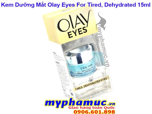 Kem Dưỡng Mắt Olay Eyes Deep Hydrating Eye Gel For Tired, Dehydrated Eyes 15ml