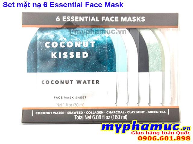 Set Mặt Nạ 6 Essential Face Mask