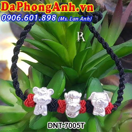 Dây đeo phong thủy Tam hợp Dần,Ngọ,Tuất DNT-7005T