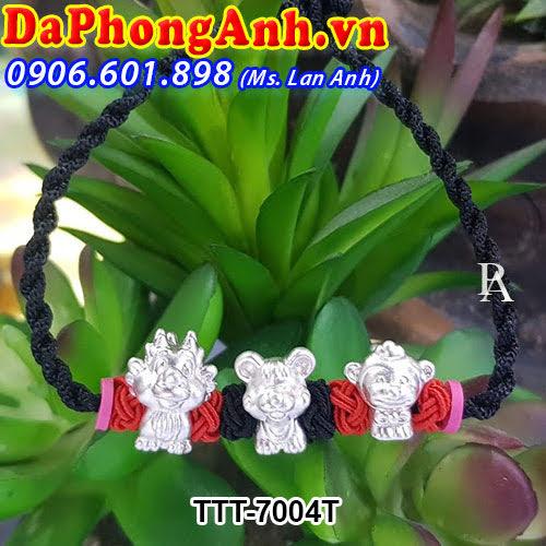 Dây đeo phong thủy Tam hợp Thân,Tý,Thìn TTT-7004T