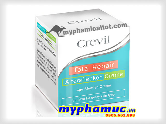 Kem Đặc Trị Nám, Mờ Vết Thâm Crevil Total Repair Age Blemish Cream