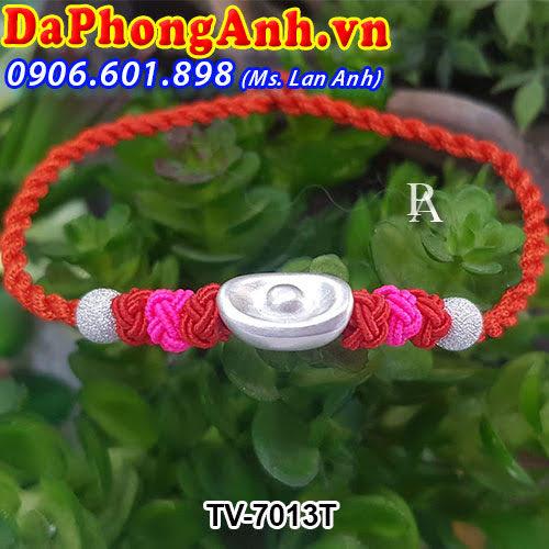 Dây đeo phong thủy Thỏi vàng TV-7013T