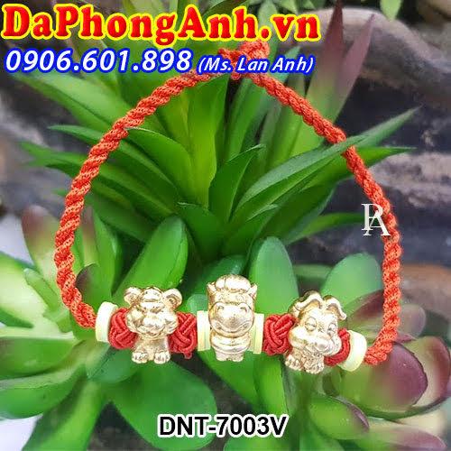 Dây đeo phong thủy Tam hợp Dần,Ngọ,Tuất DNT-7003V