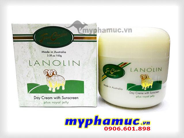 Kem nhau thai cừu Jean Charles Lanolin Day Cream 100g