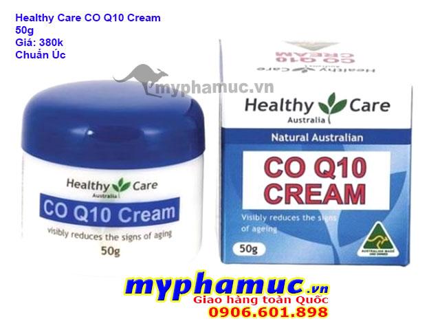 Kem Chống Lão Hóa Da Healthy Care CoQ10 Cream 50g | Date Dec 2022
